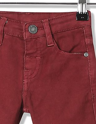 Donuts Boys Mid Rise Cotton Stretch Jeans