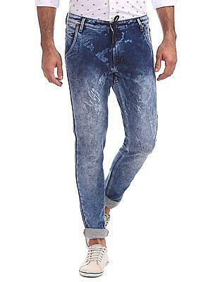 Cherokee Slim Fit Acid Wash Jeans