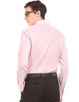 Arrow Solid Slim Fit Shirt