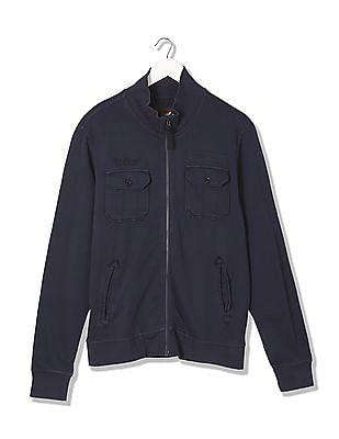 Ed Hardy Stand Collar Sweat Jacket