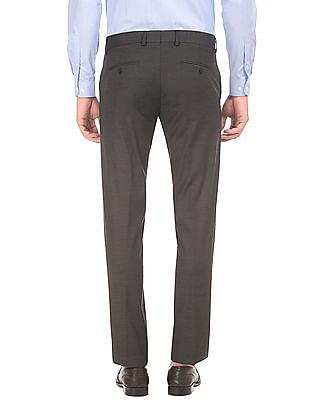 Excalibur Slim Fit Flat Front Trousers