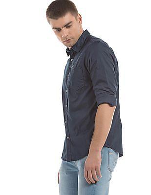 Flying Machine Long Sleeve Slim Fit Shirt