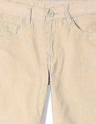 Cherokee Boys Flat Front Corduroy Trousers