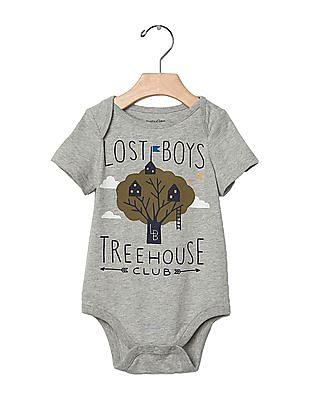 GAP Baby Lost Boys Treehouse Bodysuit