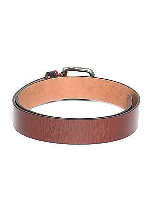 U.S. Polo Assn. Burnished Leather Belt