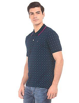 Arrow Sports Regular Fit Printed Polo Shirt