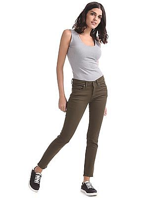 Aeropostale Jegging Fit Low Rise Jeans