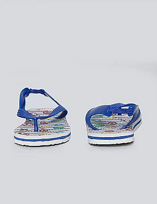 GAP Baby Grey Marvel Sandals