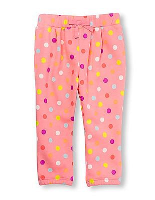 The Children's Place Toddler Girl Pink Active Printed Sweats