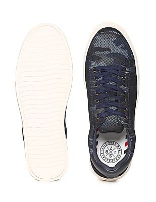 Aeropostale Contrast Sole Camo Patterned Sneakers
