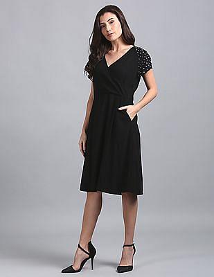 GAP Studded Empire Waist Dress