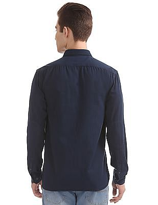 Cherokee Solid Contemporary Fit Shirt