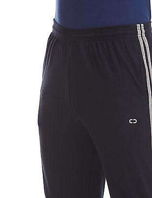 Colt Blue Elasticized Waist Solid Track Pants