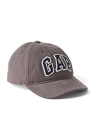 GAP Toddler Boy Grey Logo Baseball Cap