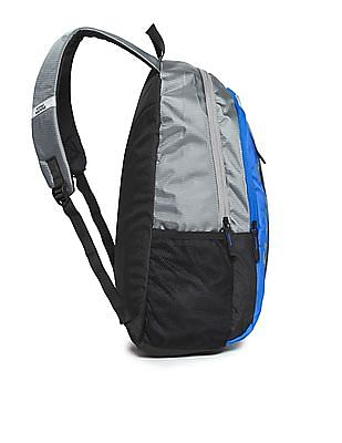 Flying Machine Colour Blocked Panelled Backpack