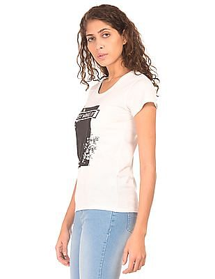 SUGR Printed Short Sleeved T-shirt