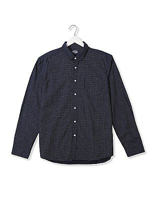 Flying Machine Standard Fit Printed Shirt