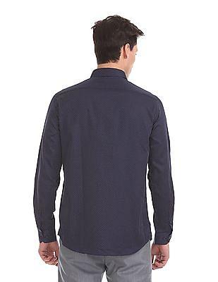 Arrow Newyork Slim Fit Printed Shirt