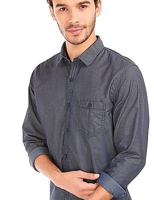Cherokee Printed Cotton Shirt