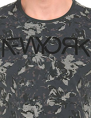 Arrow Newyork Printed Cotton T-Shirt