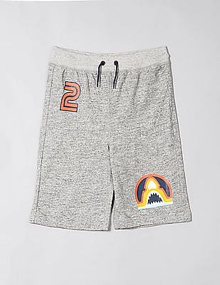 GAP Grey Boys Pull On Shorts In Jersey