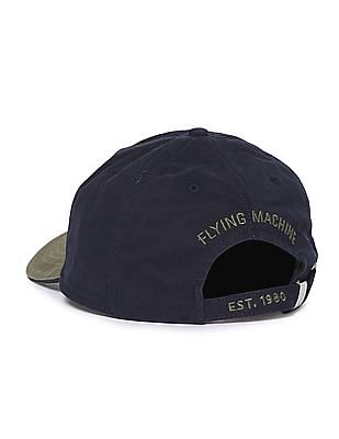 Flying Machine Colour Block Cotton Cap