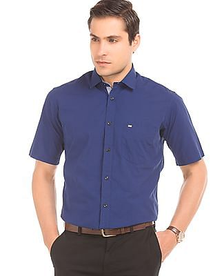 Arrow Sports Check Cotton Shirt