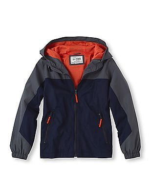 The Children's Place Boys Hooded Active Jacket