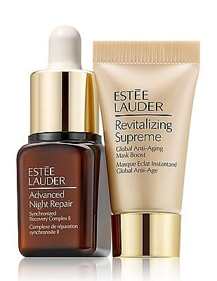 Estee Lauder Glow On The Double Repair Serum + Hydrating Mask Duo