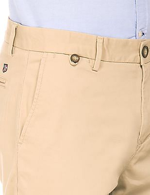 U.S. Polo Assn. Solid Slim Fit Trousers