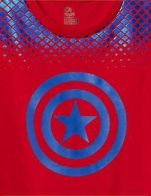 GAP Boys GapFit And Marvel Superhero Graphic Tee