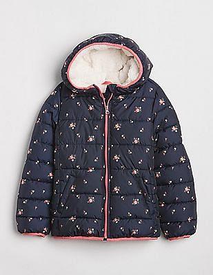 GAP ColdControl Max Sherpa Puffer Jacket