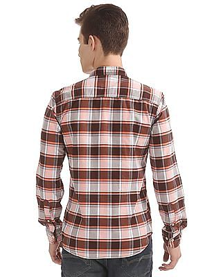 Cherokee Plaided Regular Fit Shirt