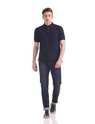 U.S. Polo Assn. Regular Fit Solid Polo Shirt