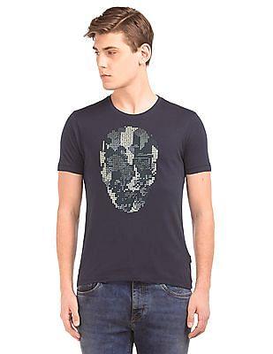 Ed Hardy Embellished Front Regular Fit T-Shirt