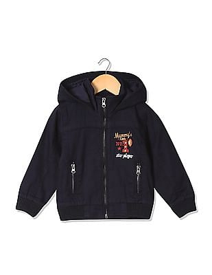 Donuts Boys Hooded Zip Up Jacket
