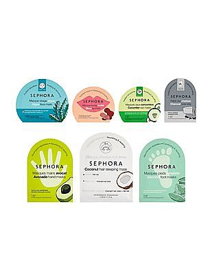Sephora Collection The Full Mask Ritual - Head To Toe Mask Set (Limited Edition)