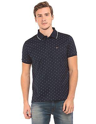 Izod Paisley Print Slim Fit Polo Shirt