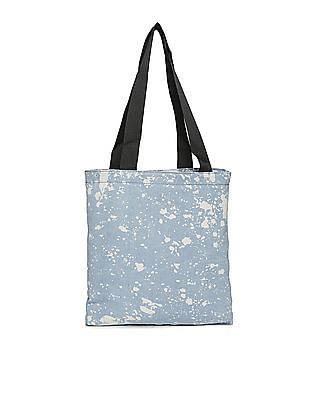 Aeropostale Acid Wash Denim Tote Bag
