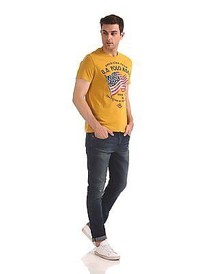U.S. Polo Assn. Denim Co. Crew Neck Printed T-Shirt