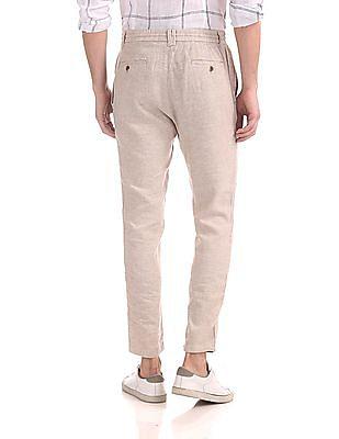 Cherokee Heathered Linen Trousers