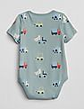 GAP Baby Print Short Sleeve Bodysuit