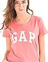 GAP Logo Print Cotton T-Shirt