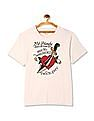 Ed Hardy Round Neck Graphic -Shirt