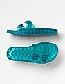 GAP Girls Green Jelly Slide Sandals