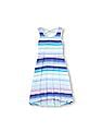 The Children's Place Girls Sleeveless Striped Knit High Low Dress