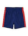 The Children's Place Toddler Boy Matchables Colour block Mesh Pieced Knit Shorts