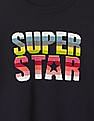 GAP Girls Blue Super Star Crew Sweater