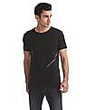 Flying Machine Standard Fit Appliqued T-Shirt