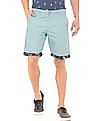 Colt Turn Up Hem Slim Fit Shorts